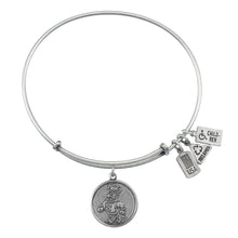 Load image into Gallery viewer, Wind & Fire NC State Wolfpack Charm Bangle