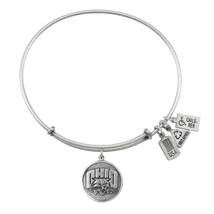 Wind & Fire Ohio Bobcats Charm Bangle