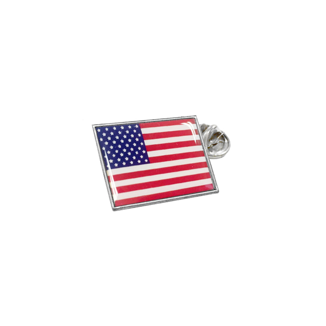 Wind & Fire American Flag Lapel Pin