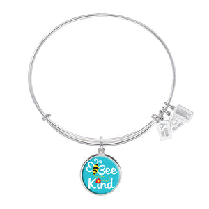 Wind & Fire Bee Kind Charm Bangle