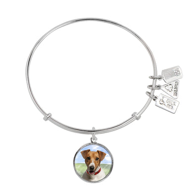 Wind & Fire Jack Russell Terrier Charm Bangle