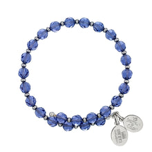 Load image into Gallery viewer, Wind & Fire Tanzanite Crystal Wrap Bracelet