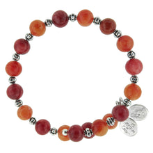 Load image into Gallery viewer, Wind & Fire Red Quartz Wrap, 8mm