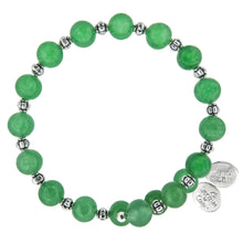 Load image into Gallery viewer, Wind & Fire Green Aventurine Wrap, 8mm