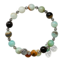 Load image into Gallery viewer, Wind & Fire Amazonite Wrap, 8mm