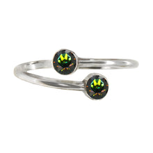 Load image into Gallery viewer, Wind & Fire EARTH Earth's Elements Sterling Silver Ring Wrap