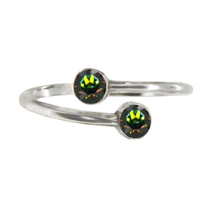 Wind & Fire EARTH Earth's Elements Sterling Silver Ring Wrap