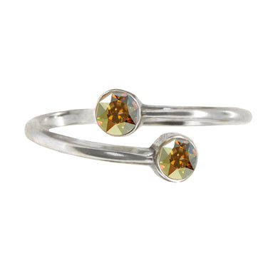 Wind & Fire FIRE Earth's Elements Sterling Silver Ring Wrap