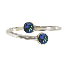 Load image into Gallery viewer, Wind & Fire WATER Earth's Elements Sterling Silver Ring Wrap