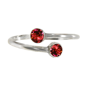 Wind & Fire LAVA Sterling Silver Ring Wrap