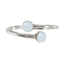 Load image into Gallery viewer, Wind & Fire OPAL Sterling Silver Ring Wrap