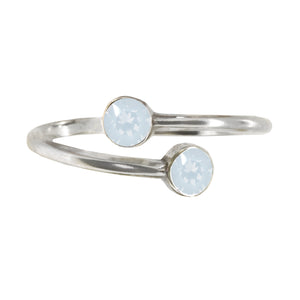 Wind & Fire OPAL Sterling Silver Ring Wrap