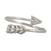 Load image into Gallery viewer, Wind & Fire Arrow Sterling Silver Ring Wrap