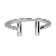 Load image into Gallery viewer, Wind & Fire T Bar Sterling Silver Ring Wrap
