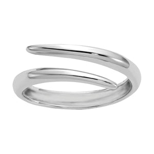 Wind & Fire Tango Sterling Silver Ring Wrap