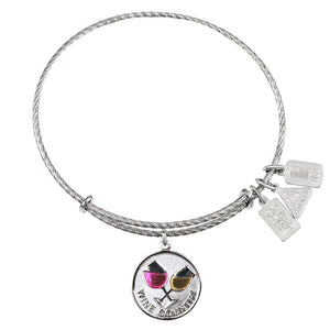 Wind & Fire Wine Country Sterling Silver Charm Bangle