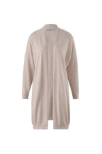 Load image into Gallery viewer, Inari Women's beige cashmere cardigan- front side - 100% high-quality cashmere