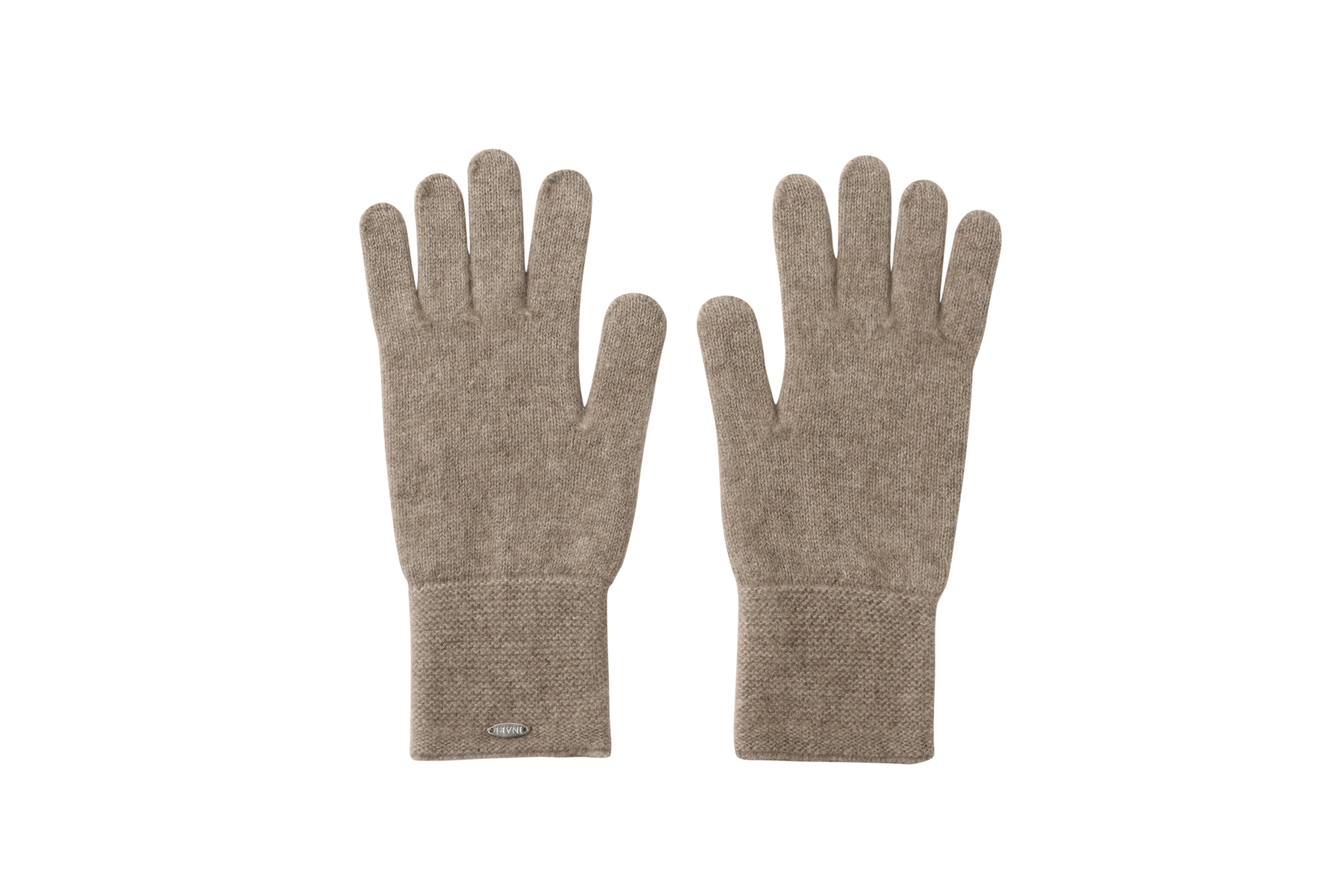Inari Women's brown cashmere gloves - 100% high-quality cashmere - Inari-clothing.fi