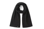 Load image into Gallery viewer, Inari Women's black melnage cashmere scarf / shawl - 100% high-quality cashmere