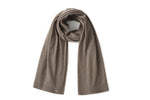 Load image into Gallery viewer, Inari Women's brown cashmere scarf / shawl - 100% high-quality cashmere