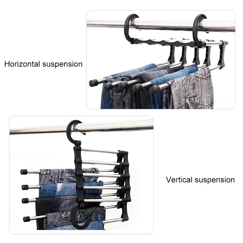 Multi-Functional 5 In 1 Wardrobe Magic Hanger
