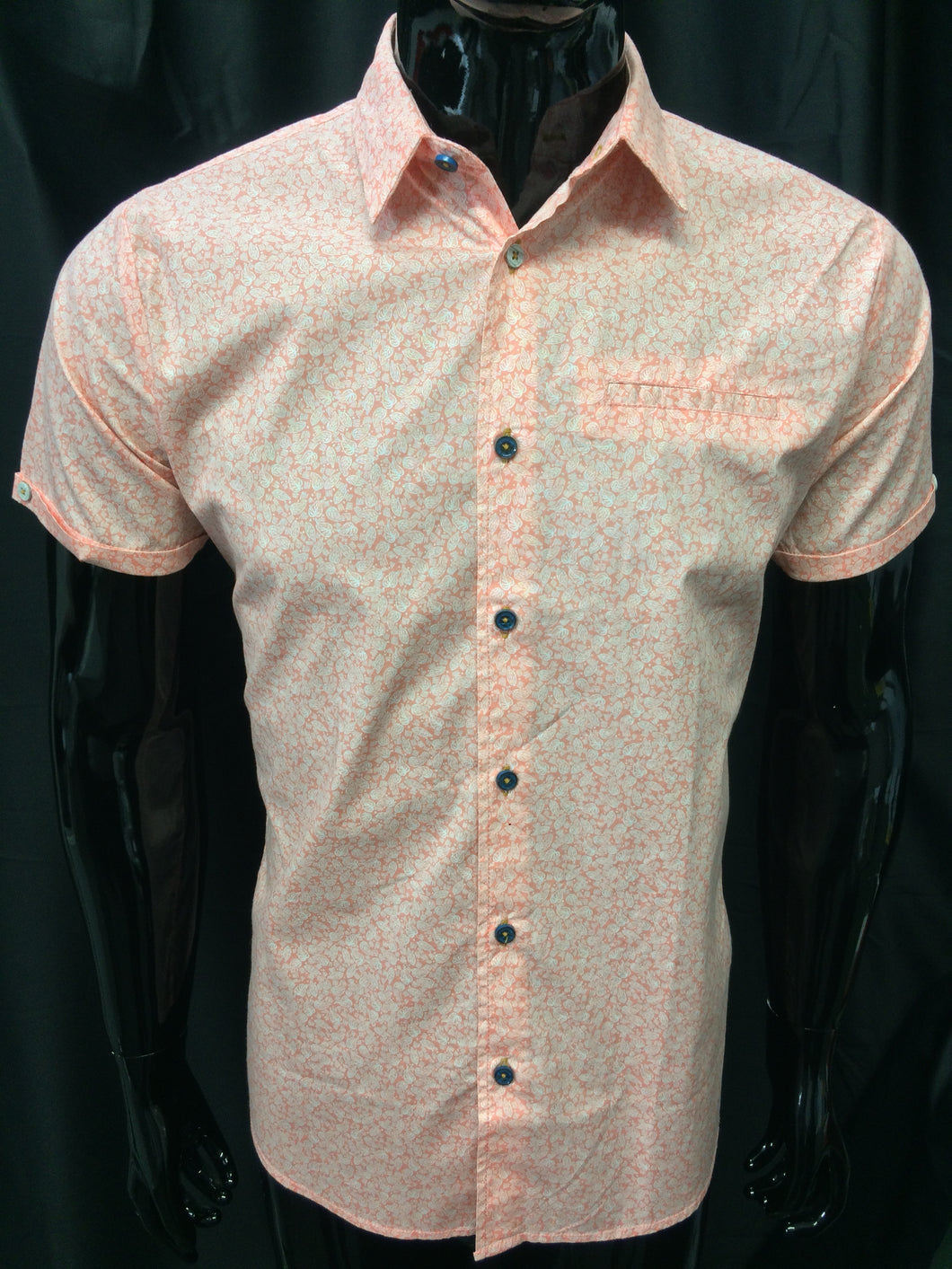 No Excess SS Shirt Coral