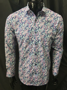 Christian Brookes Paisley Shirt