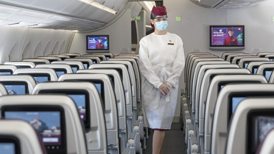 Can you wear face shields on an airplane? American Airlines allows it