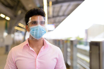 Should Fliers Wear Face Shields on a Plane?