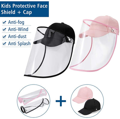 Baseball Cap Face Shields