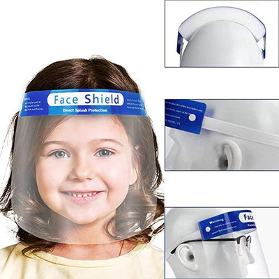 Kids lightweight face shields