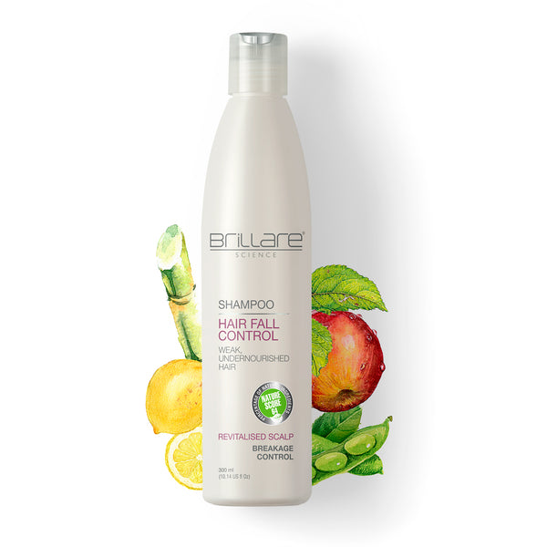 Image of Brillare Hairfall Control Shampoo for effective hair fall control