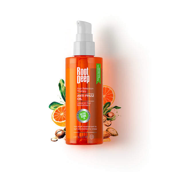 Image of Root Deep Anti Frizz Oil for frizzy hairs