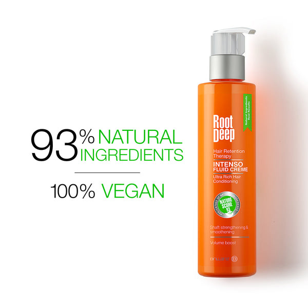 Root Deep Intenso Fluid Creme with 93% Natural Ingredients and 100% Vegan