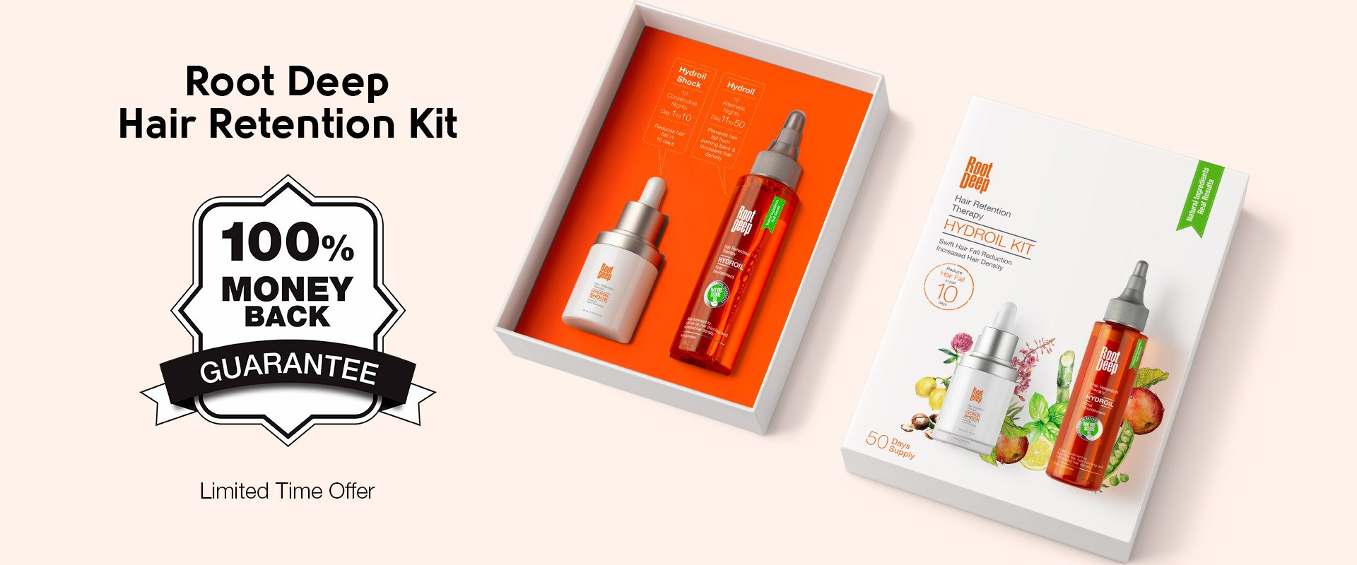 Root Deep Hydroil Kit_100%moneyback-Guarantee