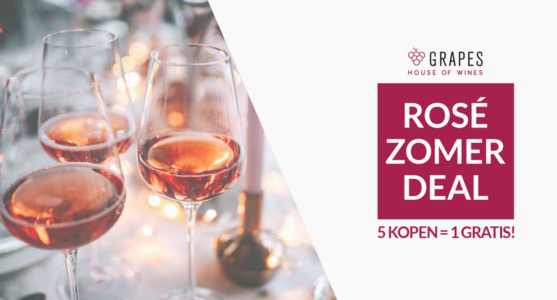 Viva Rosé! - De Grapes Rosé Zomer Deal
