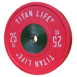 TITAN LIFE Elite Bumperplates 25kg