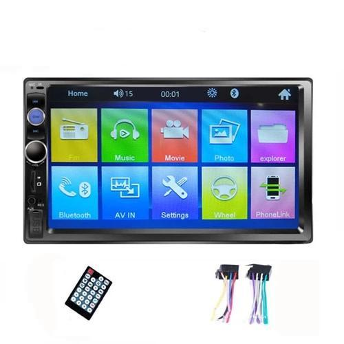 2DIN Car Radio Stereo Bluetooth MP4 MP5 USB Player Touchscreen AmericanGalore Radio Only
