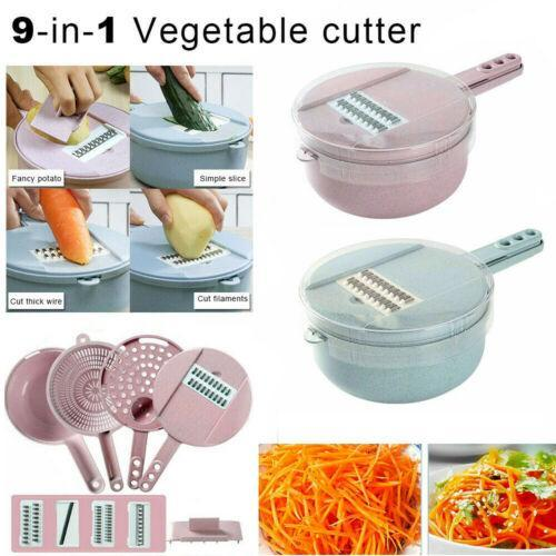 9-in-1 Multi-Function Easy Food Chopper AmericanGalore