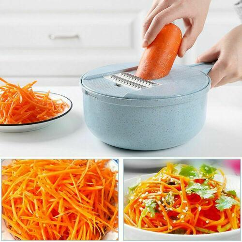 9-in-1 Multi-Function Easy Food Chopper AmericanGalore Blue