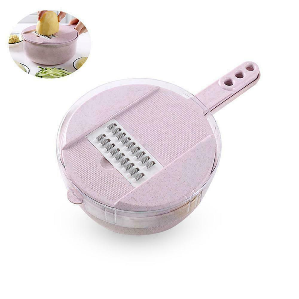 9-in-1 Multi-Function Easy Food Chopper AmericanGalore Pink