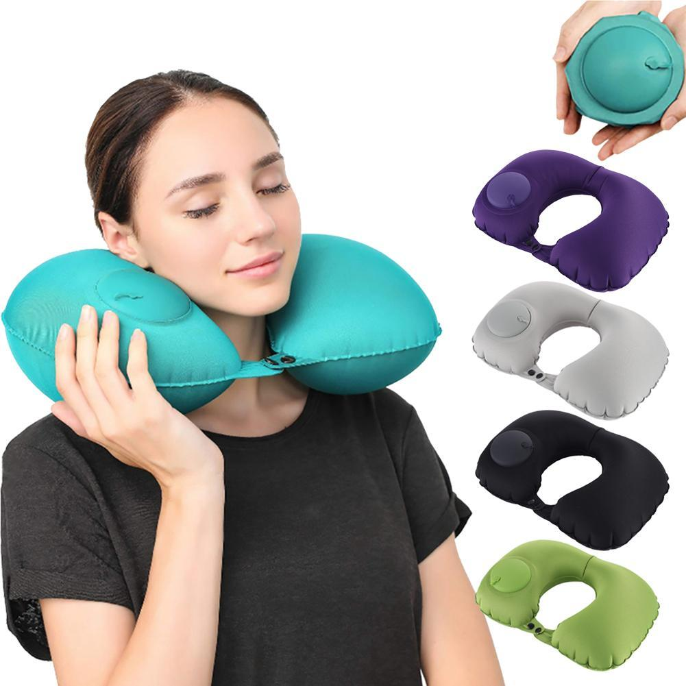 Automatic Inflatable Travel Pillow AmericanGalore