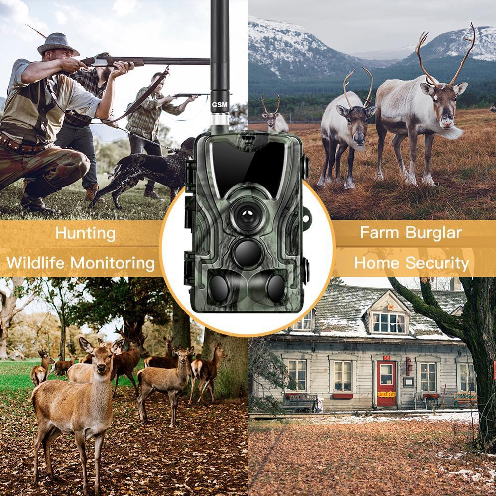 Cellular Trail Game Deer Remote Camera For Hunting VolloMart