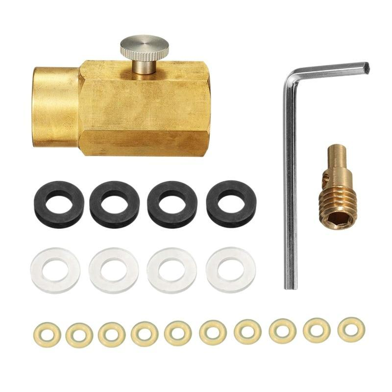 CO2 Refill Adapter Connector Cylinder Kit AmericanGalore