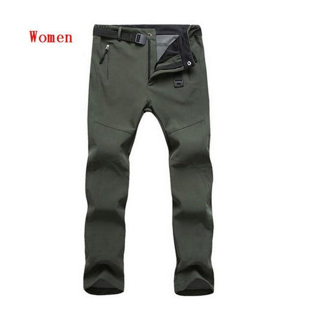 Cold-Proof Unisex Winter Pants AmericanGalore Women Army Green Asian size S