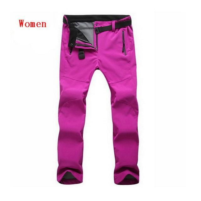 Cold-Proof Unisex Winter Pants AmericanGalore Women Rose Asian size S