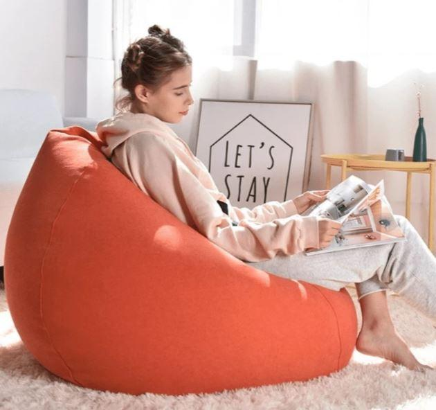 Comfortable Soft Giant Bean Bag Chair Giant Bean Bag Chair liu 0910