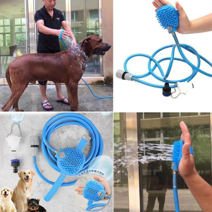 Dog Shower Sprayer - Pet Bathing Tool AmericanGalore