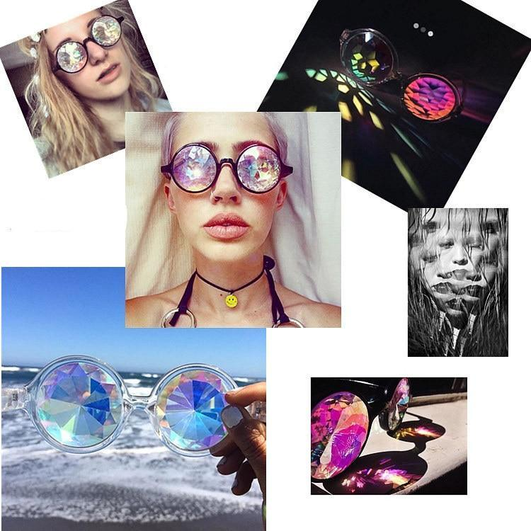 Kaleidoscope Sunglasses - New York Galore
