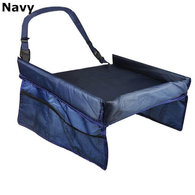Kids Car Snack Play Tray AmericanGalore Navy Blue